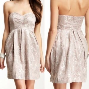 Jill Stuart Strapless lace dress